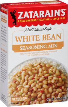 Zatarain's® White Bean Seasoning Mix 2.4 oz. Box