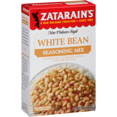 Zatarain's® White Bean Seasoning Mix 2.4 oz. Box