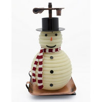 Candle by the Hour 100-Hour Snowman Candle with Copper Base