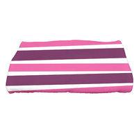 The Holiday Aisle Stripes Bath Towel Color: Purple