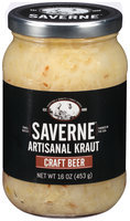 Saverne® Craft Beer Artisanal Kraut 16 oz. Jar