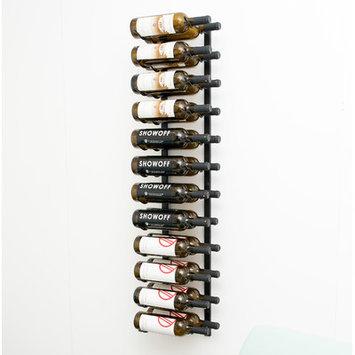 Latitude Run 24 Bottle Wall Mounted Wine Rack Finish: Satin Black