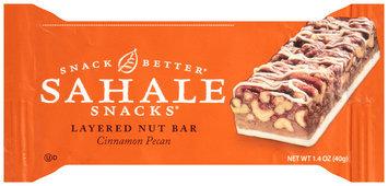 Sahale Snacks® Cinnamon Pecan Layered Nut Bar 1.4 oz. Wrapper