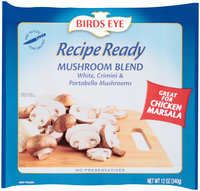 Birds Eye® Recipe Ready Mushroom Blend 12 oz. Bag