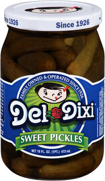Del Dixi® Sweet Pickles 16 fl. oz. Jar