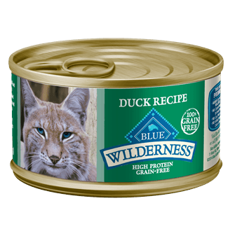 THE BLUE BUFFALO CO. BLUE™ Wilderness® Duck Recipe For Adult Cats