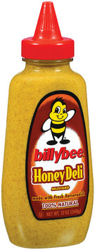 Mustard Honey Deli Billybee Mustard 12 Oz Squeeze Bottle