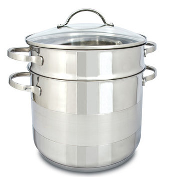 Cuisinox POTC24-PASTA - Gourmet 8 qt Covered Pasta Pot Set: POTC24