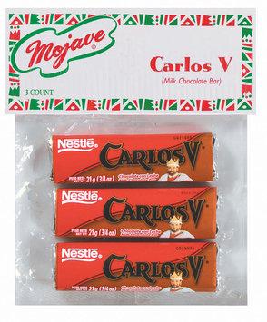 Mojave Milk Chocolate Bar Carlos V 3 Ct Peg