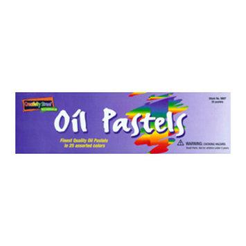 CHENILLE KRAFT COMPANY CK-9807 OIL PASTELS REGULAR 25 PIECE SET