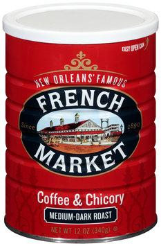 French Market® Medium-Dark Roast Ground Coffee & Chicory 12 oz. Canister
