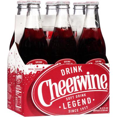 Cheerwine® Cherry Soft Drink 6-12 fl. oz. Bottles