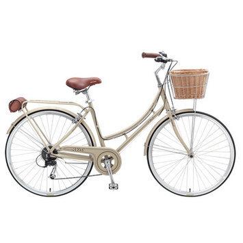 Xds Bikes Co. Women's Nadine 7-Speed Cruiser Bike Color: Vanilla