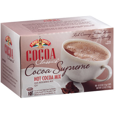 Land O'Lakes® Cocoa Classics® Supreme Hot Cocoa Mix 5.3 oz Box