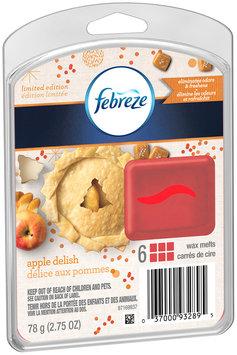 Wax Melt Febreze Wax Melts Apple Delish Air Freshener (1 Count, 2.75 Oz)