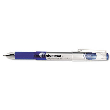Universal Products Universal High Capacity Roller Ball Stick Gel Pen, 12/Pack