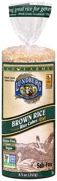 Lundberg® Eco-Farmed Salt-Free Brown Rice Rice Cakes 8.5 oz. Bag