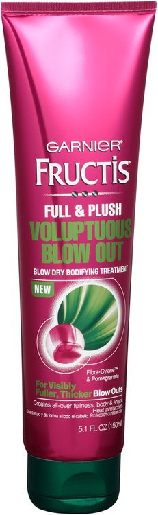Garnier® Fructis® Full & Plush Voluptuous Blow Out Hair Treatment 5.1 fl. oz. Tube