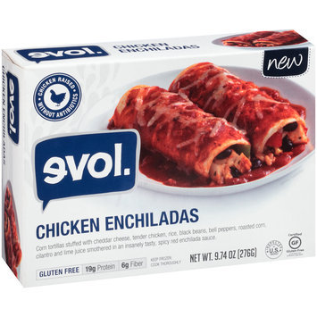 Evol. Chicken Enchiladas 9.74 oz. Box