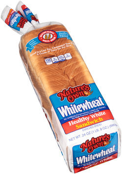 nature's own® whitewheat® healthy white sandwich enriched bread