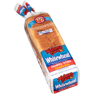Nature's Own® Whitewheat® Healthy White Sandwich Enriched Bread 24 oz. Bag