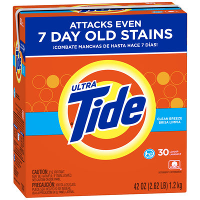 Tide Ultra Clean Breeze Brisa Limpia Laundry Detergent