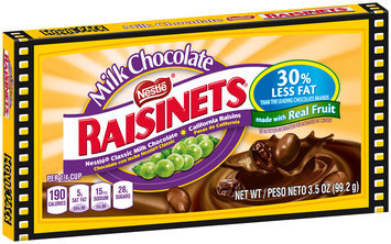 RAISINETS Milk Chocolate Covered Raisins 3.5 oz. Box