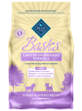 THE BLUE BUFFALO CO. BLUE™ Basics® Turkey & Potato Recipe For Puppies