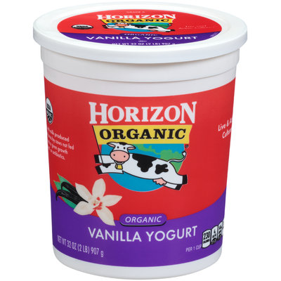 Horizon Vanilla Yogurt