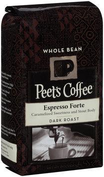 peet's coffee® espresso forte dark roast whole bean coffee