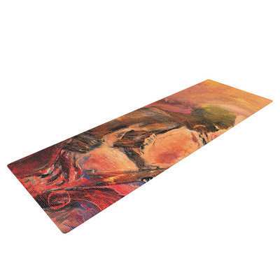 Kess Inhouse Catch the Wind by Josh Serafin Yoga Mat
