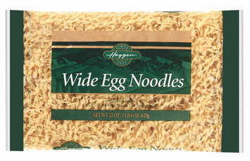 Haggen Wide Egg Noodles Pasta 22 Oz Bag