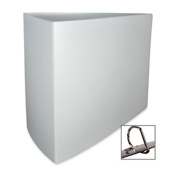 Stride, Inc. Binder, Recycled, Poly, D-Ring, 3