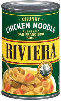 Riviera Chicken Noodle Soup 15 Oz Can
