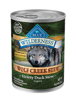 THE BLUE BUFFALO CO. BLUE™ Wilderness® Wolf Creek Stew™ Hearty Duck Stew For Adult Dogs