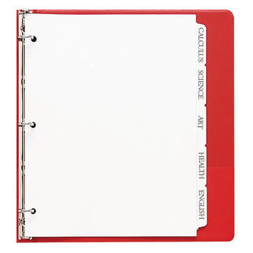 Sparco Single Reverse Collated Index Dividers