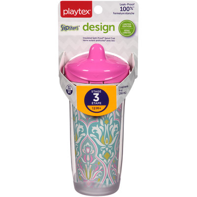 Playtex® Sipsters® Design Selections™ Insulated Spout 9 oz. Cup Carded Pack
