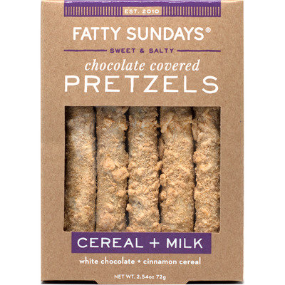 Fatty Sundays Cereal + Milk Chocolate Covered Pretzels