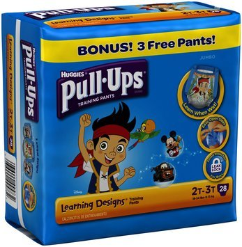HUGGIES® Pull-Ups® Learning Designs Training Pants for Boys 2T-3T 28 ct Pack