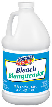Special Value Bleach Household Chemical 64 Fl Oz Plastic Jug