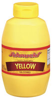 Schnucks Yellow 100% Natural Mustard 9 Oz Squeeze Bottle