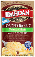 Idahoan® Reduced Sodium Loaded Baked® Mashed Potatoes 4 oz. Pack