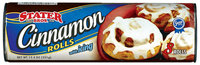 Stater Bros. W/Icing Cinnamon Rolls 8 Ct Can