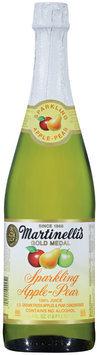 Martinelli's Gold Medal®  Sparkling Apple-Pear 100% Juice 25.4 Fl Oz Glass Bottle