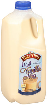 Turkey Hill Light Vanilla Nog .5 Gal. Plastic Jug