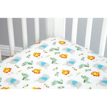 Zutano Blue Juba 5 Piece Crib Bedding Set