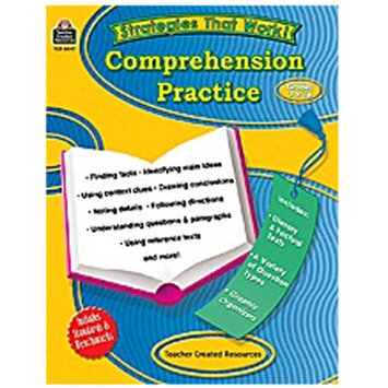 Teacher Created Resources 8047 Strategies that Work: Comprehension Practice Grades 7 and Up