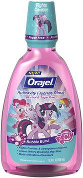 Orajel™ Bubble Burst My Little Pony® Anticavity Fluoride Rinse 16.9 fl. oz. Bottle