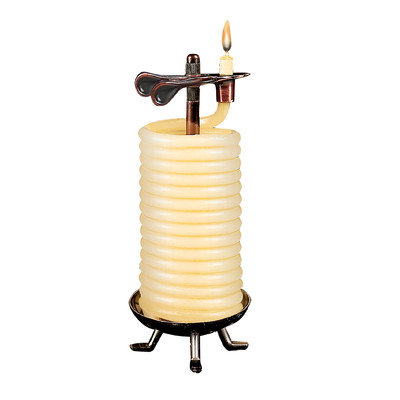 Eclipse Home Decor Llc Eclipse Home Decor, LLC 48 Hour Tall Coil Candle 20624B