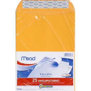 Mead Press It Seal It Envelopes, Office Pak, 25 envelopes - MEAD PRODUCTS